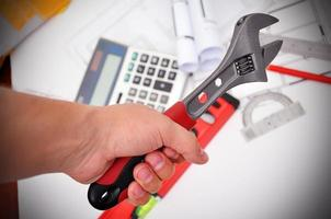 Handhalteschlüssel foto