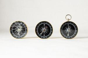 analoger Kompass foto