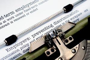 Arbeitgeber, die Diskriminierung verhindern foto