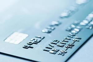 Online-Shopping-Zahlung per Kreditkarte foto