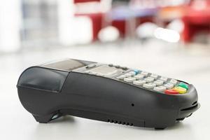 Zahlung mit Kredit- und Debitkarten-Einkaufspasswort foto