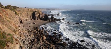 Pazifikküste, Sonoma County, Kalifornien foto