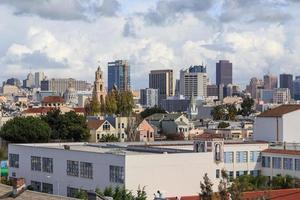 Dächer von San Francisco foto