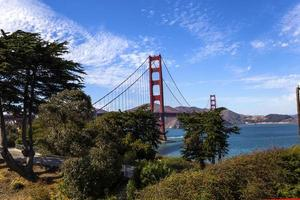 Golden Gate Bridge, San Francisco, Kalifornien, USA foto