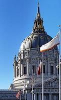 Kuppel des Rathauses von San Francisco foto