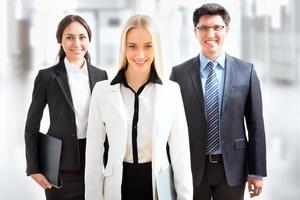 Gruppe von Geschäftsleuten
