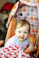 lächelndes Baby foto