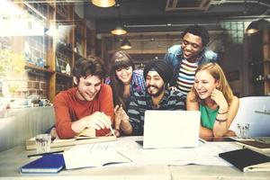 Designer Teamwork Brainstorming Planung Innenkonzept