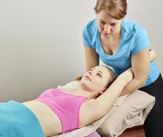 Osteopathiebehandlung foto