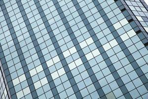 Bürogebäude aus Glas foto