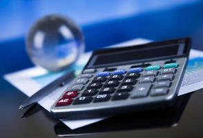 Finanzkonzept, Prozent, natürlicher bunter Ton foto