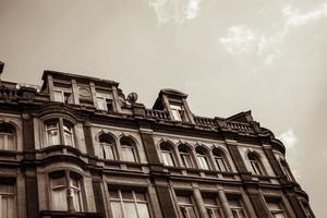 viktorianisches Bürogebäude foto