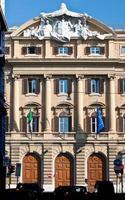 über rom: italienische politik, kasse, finanzministerium, finanze, italien foto