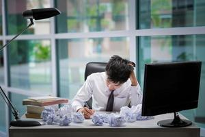 Mitarbeiter Stress foto
