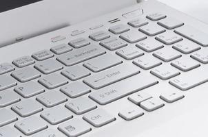rechte Seite der Tastatur foto