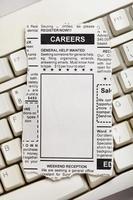 Karriere-Anzeige foto