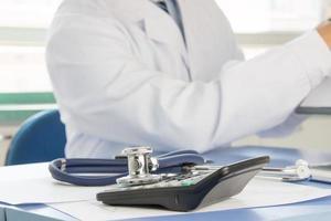 Ärzte bei der Arbeit foto