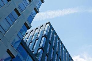 Bürogebäude mit moderner Architektur foto