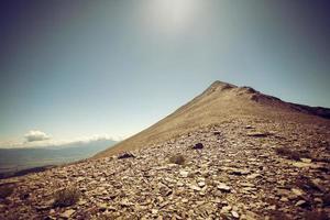 Holen Sie sich den Gipfel foto