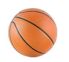 Ball für das Spiel in Basketball isolieren foto