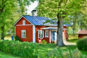 Landhaus in Schweden foto