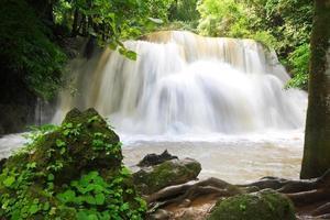 Wasserfallwand foto
