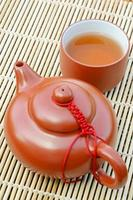 heißes Teegetränk. foto