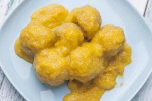 Fleischbällchen in Sauce Serie 02 foto