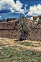 venezianische Befestigungsmauern von Chania foto