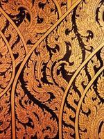 thailändische Malerei im Tempel, Thailand