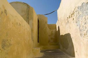 Häuser in Oia. foto