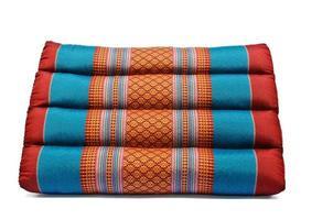 traditionelles Kissen im thailändischen Stil foto
