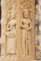 Steinschnitzerei am Schlossfelsen-Tempel