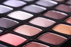 Make-up professionelle Lidschatten-Palette foto