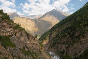 Schlucht Adyr-Su, die kaukasischen Berge, Schutzzone, Russland foto