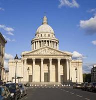 das pantheon von paris foto