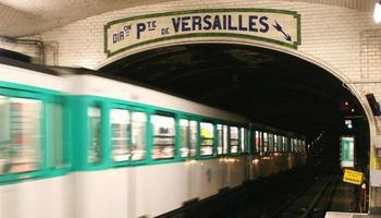 Pariser U-Bahn foto