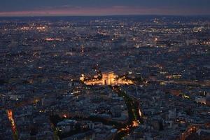 beleuchtetes Paris 2 foto