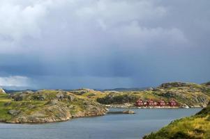 Häuser in Norwegen foto