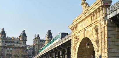 städtisches Leben-Paris Metro foto