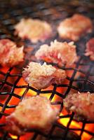 gegrillter Rindfleischgrill, japanische Küche foto