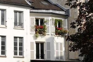 Fassaden von Paris foto