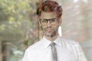junges Geschäftsmannporträt foto