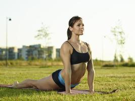 Fitness Frau foto
