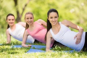 schwangere Fitness foto