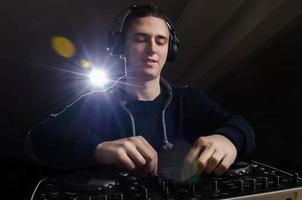 DJ in der Mischung
