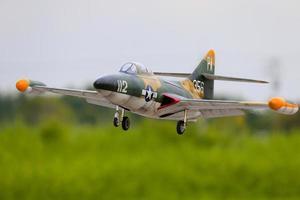 RC Jet Scale Grumman F9F Panther Funksteuerung foto