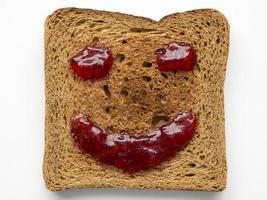 gebratener Toast foto