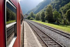 Zugreise foto