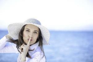 Sei ruhig und genieße foto